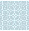 geometric seamless abstract floral pattern vector image