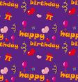 Happy Birthday Texture vector image vector image
