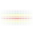 key spectral halftone pattern vector image vector image