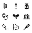 work health icons set simple style vector image
