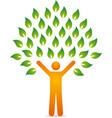 tree human vector image