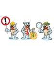 Bulldog Mascot sign vector image
