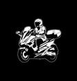 biker 20 vector image vector image