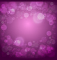 hearts love purple background vector image