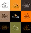 Horse Logo Horse Icon Badge Emblem vector image vector image
