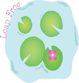 Leap Frog vector image