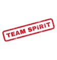 Team Spirit Rubber Stamp vector image vector image