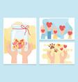volunteering help charity donation money vector image vector image