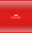 abstract red dotted line halftone effect vector image vector image