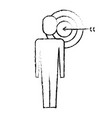 businessman with targert arrow solution marketing vector image