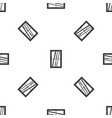 closed window pattern seamless black vector image vector image