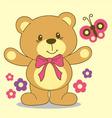 litle bear vector image vector image