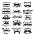 no shaving campaign movember month vector image