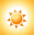 sunrise sun vector image vector image