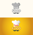 The logo of French food vector image vector image
