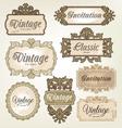 Vintage Retro Labels vector image