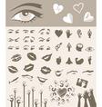 body parts design elements