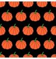 Cartoon Halloween Pumpkin Background vector image vector image