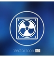 fan icon airflow cooling cooler confusing manual vector image