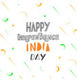 india independence day vector image vector image