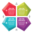 infographic business concept - abstract vector image