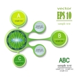 infographics spring ABC vector image vector image