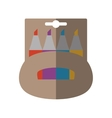 marker box isolated icon vector image vector image