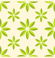 Abstract flower seamless pattern