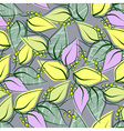 Abstract seamless spring pattern vector image vector image