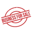Business For Sale rubber stamp vector image