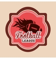 football championship design vector image vector image