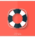 Lifebuoy web icon vector image vector image