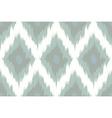 Seamless pattern Tribal Art Ikat vector image vector image