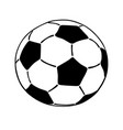 Soccer ball icon isolated on white background