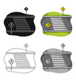 transition single icon in cartoon styletransition vector image