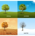 Tree concept set vector image