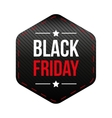 Black Friday patch vector image vector image