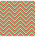 christmas chevron pattern image zigzag red vector image