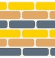 Color bricks seamless pattern vector image vector image