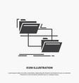 Folder file management move copy icon glyph gray