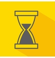hourglass isolated icon design vector image vector image
