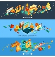 Lottery Banners Set vector image vector image