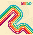retro grunge background vector image vector image
