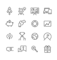 Startup Icons Set vector image vector image