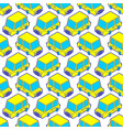 car cartoon style pattern seamless auto kids vector image vector image