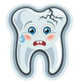 Cartoon tooth toothache
