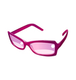 icon sunglasses vector image