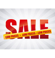 low price vector image vector image