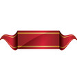 Ribbon icon Label design graphic vector image vector image