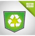 shield icon design vector image